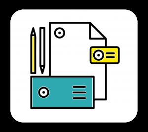 عکس طراحی لوگو و ست اوراق اداری (کارت ویزیت، سربرگ، پاکت نامه و...)